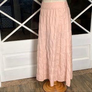 Old Navy 100% Linen Maxi Skirt